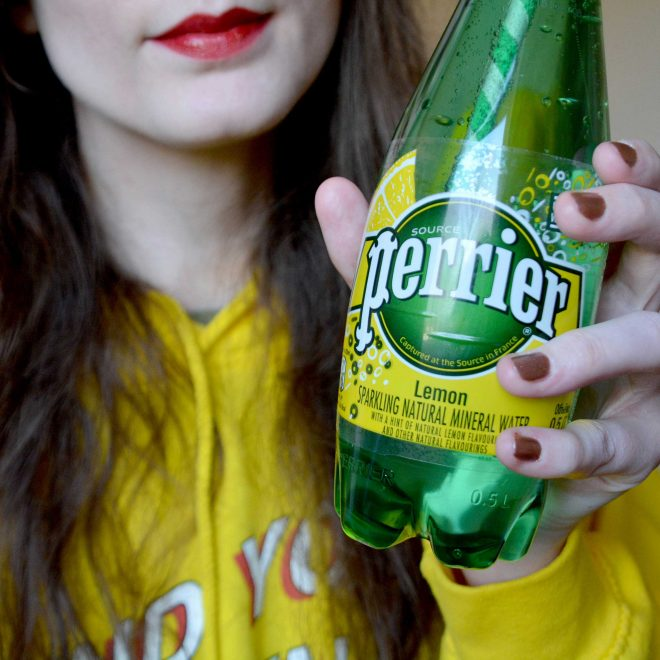Staying Hydrated at Christmas with Perrier